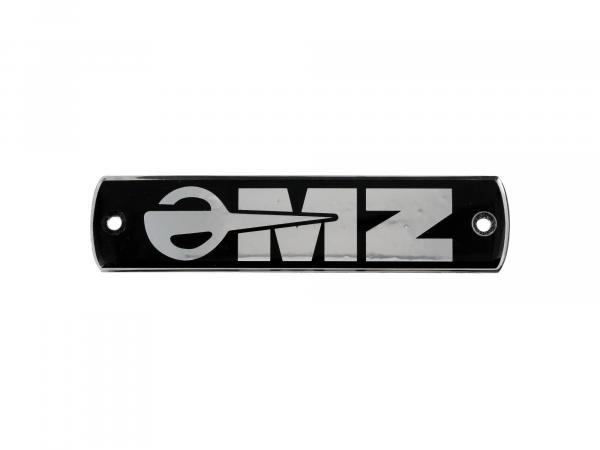 "Plastic badge - lettering ""MZ"" for tank ETS125/1, ETS150/1, TS125/150/250"