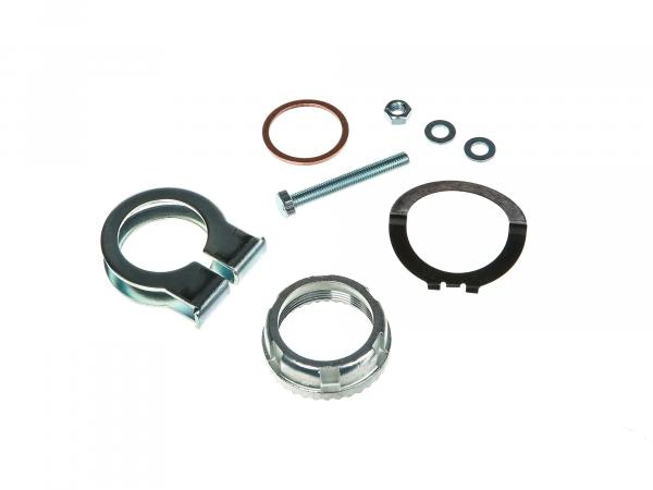 Set: Manifold attachments 32mm - for Simson S50, S51, KR51 Schwalbe, etc.