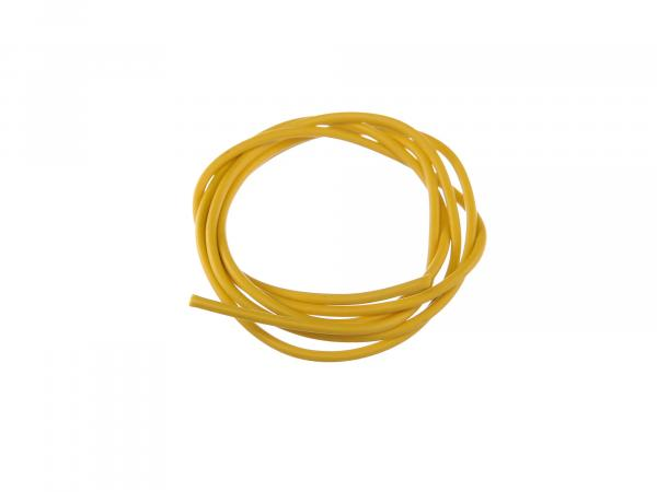 Cable - yellow 1,0mm² Automotive cable - 1m