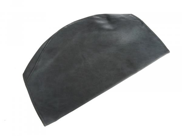 Seat cover smooth, grey without lettering - Simson S53, S83, SR50, SR80