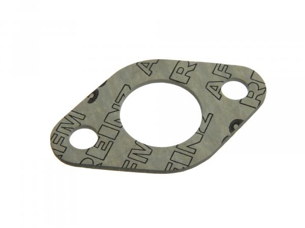 gasket to carburettor flange - 2 mm thick, ø 27 mm fit. for AWO 425S (brand: PLASTANZA / material AMF 39 )