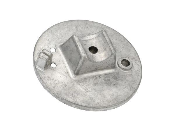 10061301 Bremsschild vorn - roh - mit Bolzen - Simson SRA50, MSA50-Spatz - Bild 1
