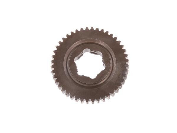 Loose wheel 44 tooth, 1st gear (3-speed & 4-speed engine) - Simson S51, KR51/2 Schwalbe