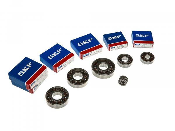 Set: Ball bearing motor, 7 parts - MZ ETZ 125, 150