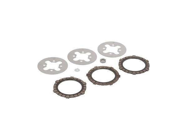 SET: Clutch discs SR1, SR2, KR50