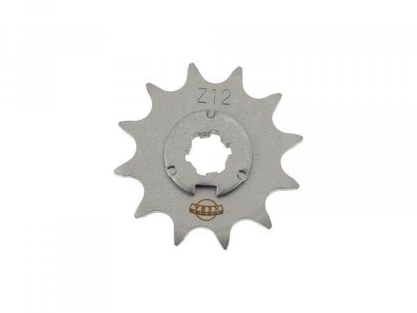 Sprocket, small chain wheel, 12 tooth - Simson S50, KR51/1 Schwalbe, SR4-2 Star, SR4-3 Sperber, SR4-4 Habicht