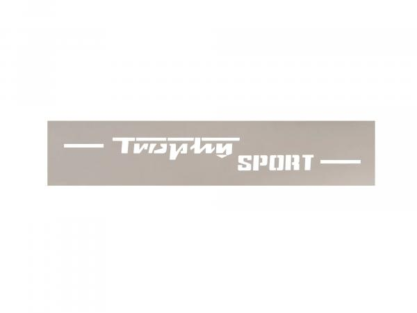 Lettering (foil - stencil foil) Trophy Sport for ETS250