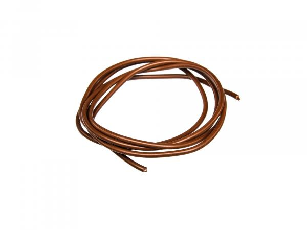 Cable - Brown 0,75mm² Automotive cable - 1m