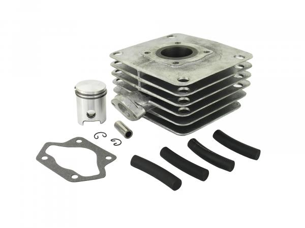 Set: 4-channel cylinder and piston, 70ccm - Simson S70, S83, SR80