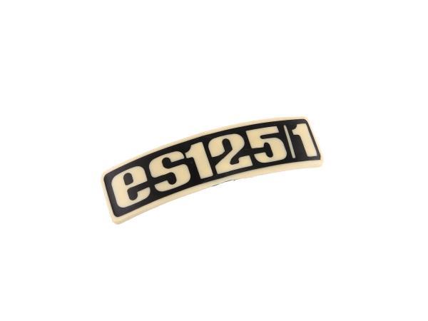 Schriftzug (Plakette aus Kunststoff) ES125/1