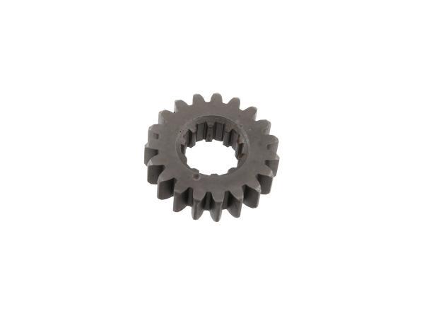 10002313 Festrad 19 Zahn, 3.Gang (4-Gang Motor) - Simson S51, KR51/2 Schwalbe - Bild 1
