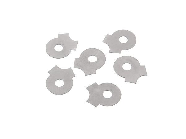 Set, 6 pieces, locking plate for stud bolt BK350