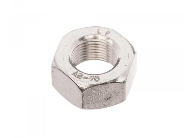 Hexagon nut M12x1 in stainless steel - DIN934