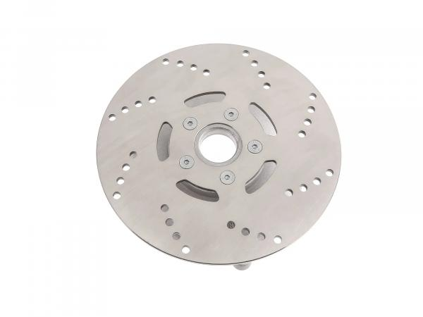 Brake disc carrier with brake disc ø 200mm stainless steel - SRA50, Star 50 - Automatic roller with wide rim