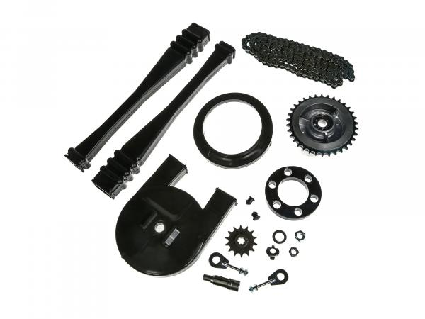 Large sprocket drive set (chain set) - for Simson S50
