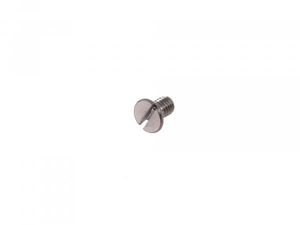 Slotted countersunk screw, in stainless steel M5x8 - DIN963