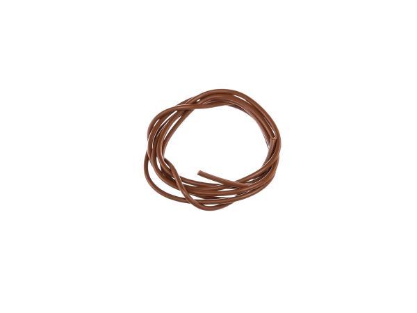 10055128 Kabel - Braun 1,5mm² Fahrzeugleitung - 1m - Bild 1