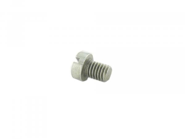 Slotted cheese head screw M6x8 - DIN84