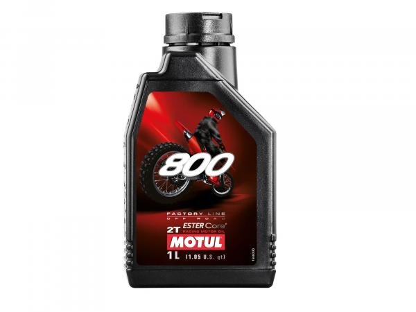 MOTUL 800 engine oil 2 stroke -1 litre - Off Road
