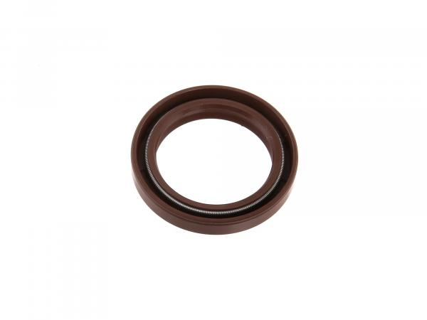 Oil seal 35x47x07, brown, high dust lip for telescopic fork - MZ ETZ, TS