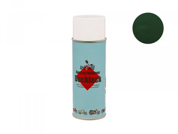 Spray can Leifalit top coat billiard green - 400ml