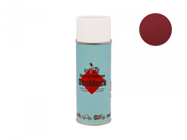 Spray can Leifalit top coat Bordeaux red - 400ml