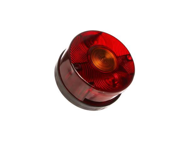 Dreikammerleuchte rund ohne Kennzeichnenbeleuchtung (für Fahrzeuge aus der DDR)
