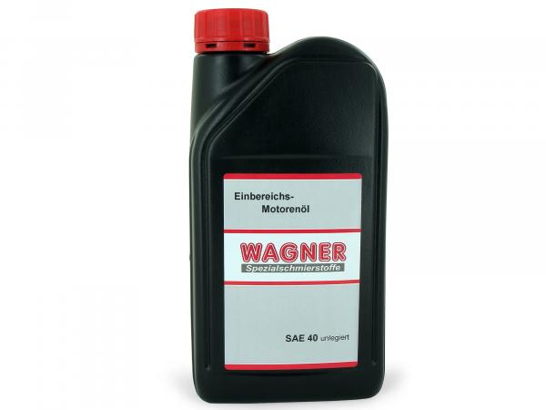 Engine Oil Oldtimer Wagner* (single range) SAE40 unl. 1L