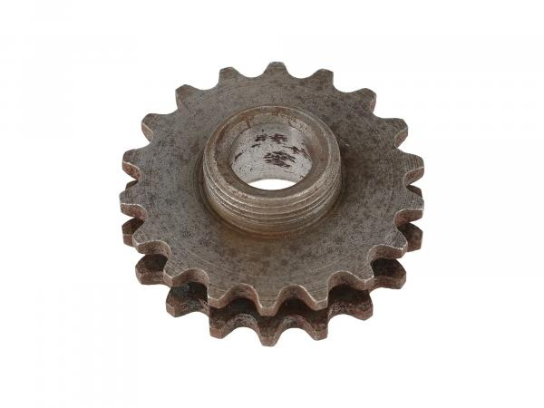 Sprocket on crankshaft (without DZM) ETZ125, ETZ150
