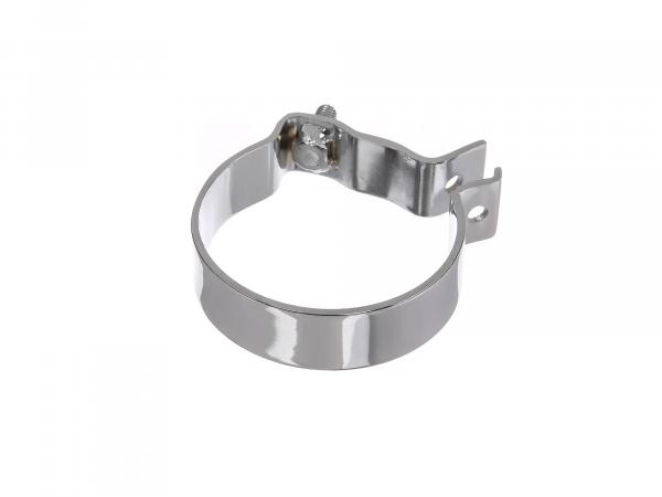 Rear carrying clamp, Ø80mm, chrome-plated - MZ RT125, ES125, TS125 - IWL