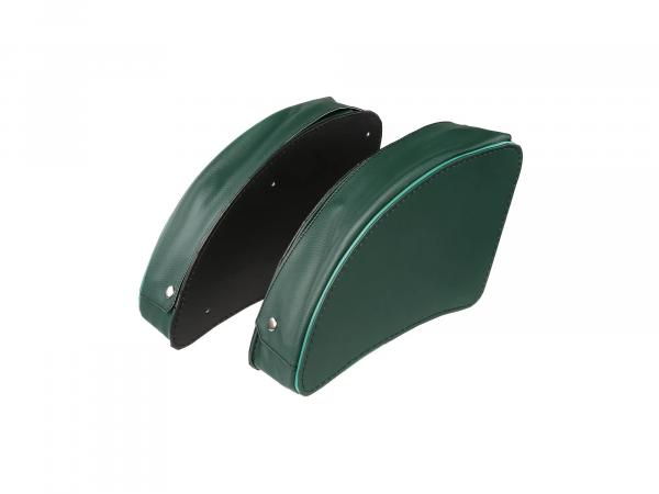 Set: Packtasche Grün links/rechts - für MZ ES175, ES175/1, ES250, ES250/1, ES300