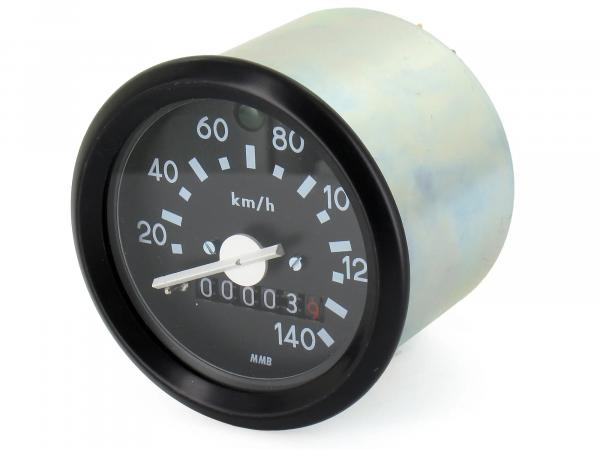 Tachometer 140km/h version with flashing control, 12V