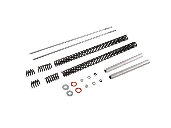 "Umrüst-Kit Tuning Telegabel ""Sport"" mit 4x Top-Out Feder - für Simson S50, S51, S53, S70, S83"