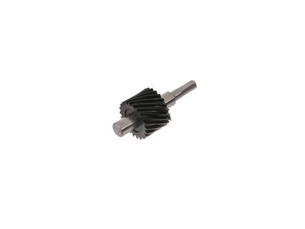 Schraubenritzel für Tachoantrieb S50   22 Zahn (Metal/Kunststoff)