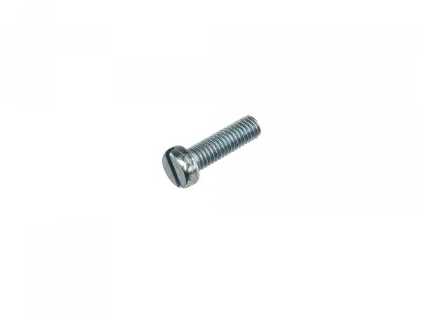 Slotted cheese head screw M6x20 - DIN84
