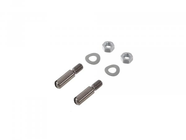 Set: Cylinder head screws, slot for hand lever Aluminium lever Schwalbe KR51, Spatz SR4-1, Star, SR4-2, Sperber SR4-3, Habicht SR4-4