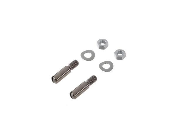 Set: Zylinderschrauben, Schlitz für Handhebel Aluminiumhebel Schwalbe KR51, Spatz SR4-1, Star, SR4-2, Sperber SR4-3, Habicht SR4-4