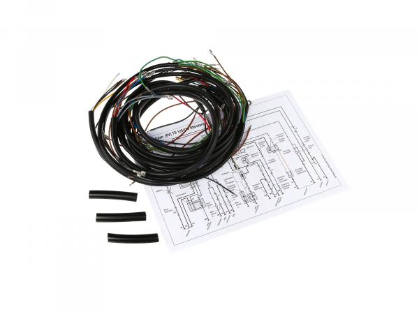 Cable harness set for TS 125,150, ETS 125,150 Standard