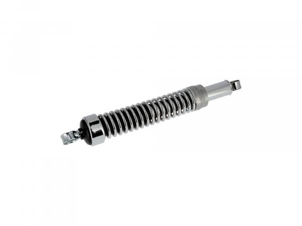 Front shock with eye + chrome spring, 395mm - for MZ ES 175, 250