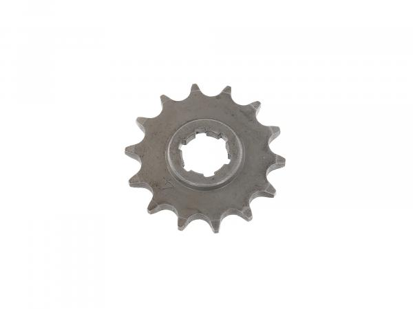 Small sprocket, 14 teeth - for MZ ES125, ES150, TS125, TS150, RT125 - IWL SR56 Wiesel