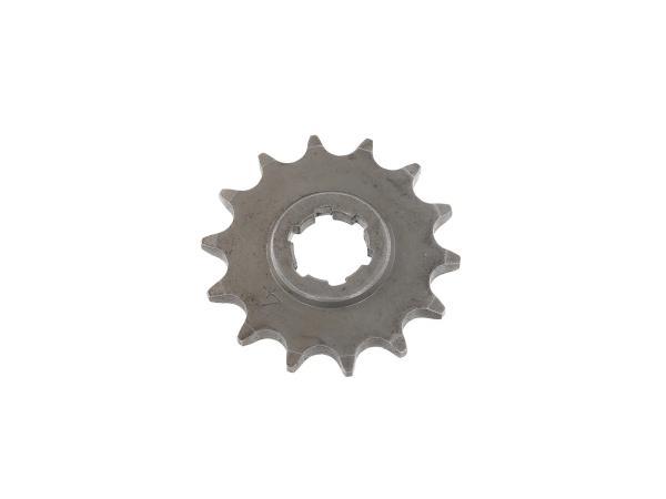 10003305 Kleines Kettenrad, 14 Zahn - für MZ ES125, ES150, TS125, TS150, RT125 - IWL SR56 Wiesel - Bild 1