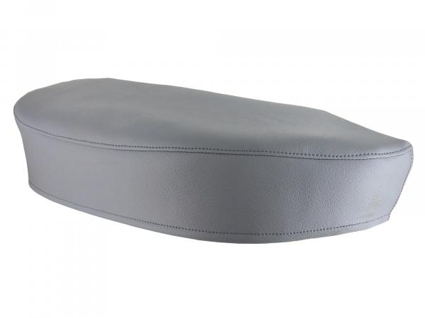 Seat cover smooth, grey - for Simson SR4-1 Spatz