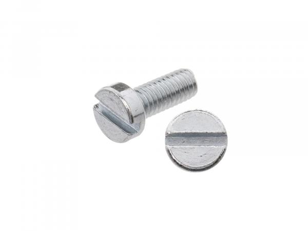 Slotted cheese head screw M4x10 - DIN84