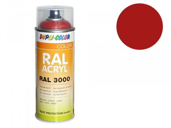 Dupli-Color Acrylic Spray RAL 3002 carmine red, glossy - 400 ml
