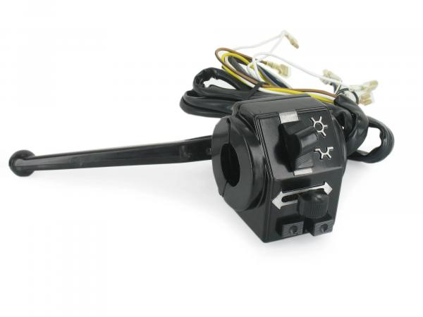 Switch combination, housing half rear + front, long cables - for Simson S51, S70, S53, S83