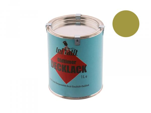 Lacquer paint 2K Leifalit Panama green - 1Liter