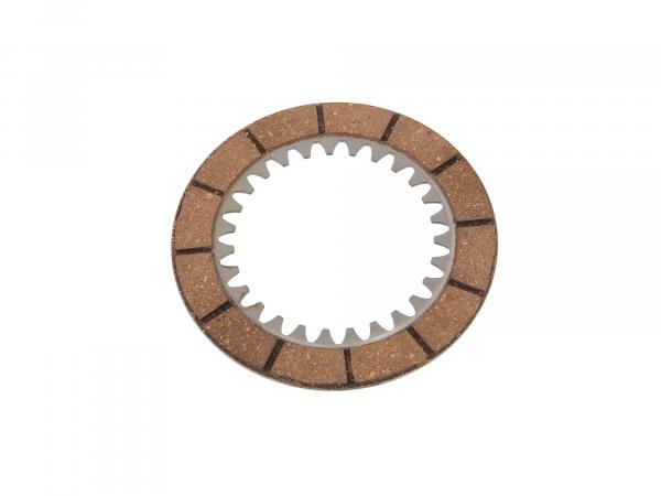 Clutch disc ES250, ES250/1 (friction disc/inner plate) (only applicable for older types dimension 3,30mm)