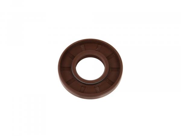 Shaft sealing ring 22x47x07, brown - Simson S50, KR51/1 Schwalbe, SR4 - MZ TS125, TS150