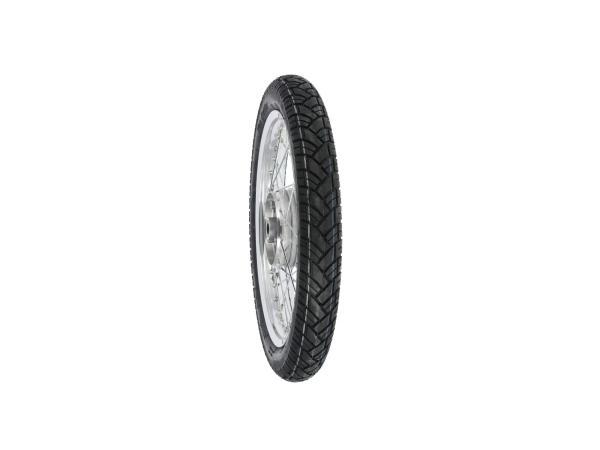 "10031082 Komplettrad hinten 1,6x16"" Alufelge + Chromspeichen + Reifen Vee Rubber 094 - Bild 1"