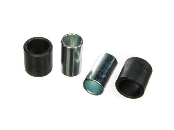 SET= 2x Polyamidbuchse und 2x Innenrohr - Roller SR50, SR80